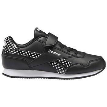 Zapatos Niños Zapatillas bajas Reebok Sport Royal CL Jogger Negros