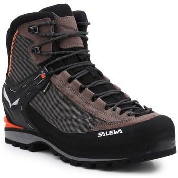 Zapatos Hombre Senderismo Salewa MS Crow Gtx Negros, Marrón, Grafito