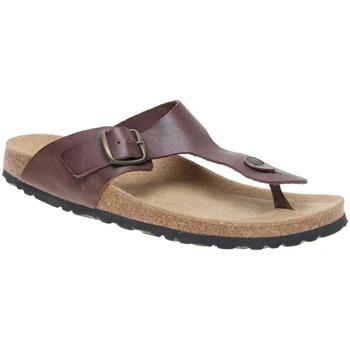 Zapatos Hombre Chanclas Autenti 4370.10 PEN MARRON