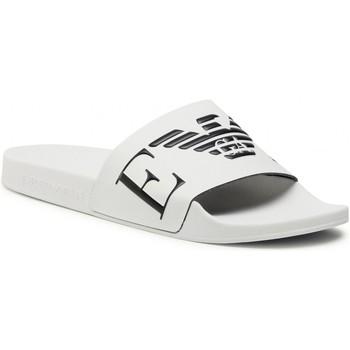 Zapatos Hombre Chanclas Emporio Armani X4PS06 XM760 blanco negro