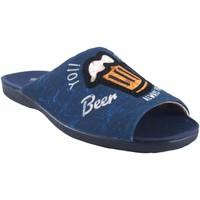 Zapatos Hombre Multideporte Garzon Ir por casa caballero  6981.081 azul Azul
