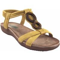 Zapatos Mujer Sandalias Amarpies Sandalia señora  17064 abz mostaza Amarillo