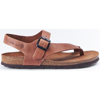 Zapatos Mujer Sandalias Interbios Sandalias  7162 Ours Marrón