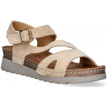 Zapatos Mujer Sandalias Etika 52655 marrón