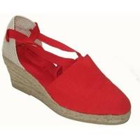 Zapatos Mujer Alpargatas Annora Zapatos Sandalias de vestir de mujer by Annora Rouge