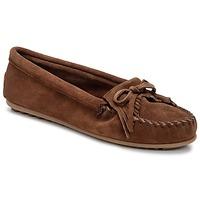 Zapatos Mujer Mocasín Minnetonka KILTY Marrón