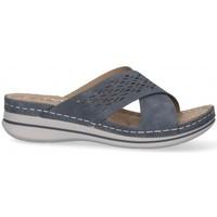 Zapatos Mujer Zuecos (Mules) Etika 52659 azul