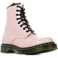 Zapatos Mujer Botas de caña baja Dr Martens 1460 Wn's Rosa