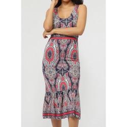 textil Mujer Vestidos largos Admas Vestido largo de verano azul Paisley Azul