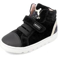 Zapatos Niños Zapatillas altas Garvalin 191656 Negro
