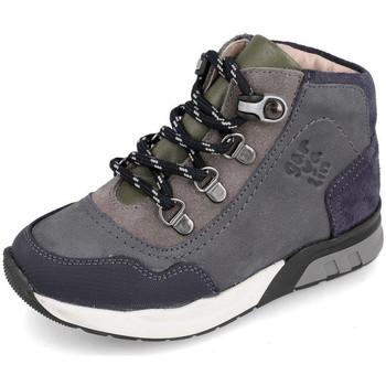 Zapatos Niños Zapatillas altas Garvalin 191421 Gris