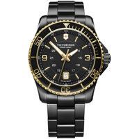 Relojes & Joyas Hombre Relojes analógicos Victorinox 241884, Quartz, 43mm, 10ATM Negro