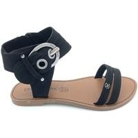 Zapatos Mujer Sandalias Chattawak Nu-Pieds 9-Pacome Noir Negro