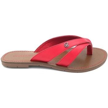 Zapatos Mujer Chanclas Chattawak Tong 11-KALINDA ROUGE Rojo