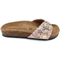 Zapatos Mujer Zuecos (Mules) Chattawak Mule  11-OPALINE S.ABRICOT Naranja