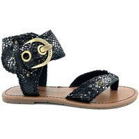 Zapatos Mujer Sandalias Chattawak Nu-Pieds 11-Thalie S.NOIR Negro