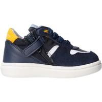 Zapatos Niño Zapatillas bajas Balducci - Polacchino blu/giallo MSPO3602 BLU