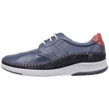 Zapatos Hombre Derbie Fluchos  Azul