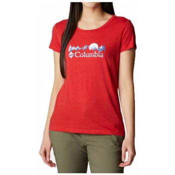 textil Mujer Camisetas manga corta Columbia  Multicolor