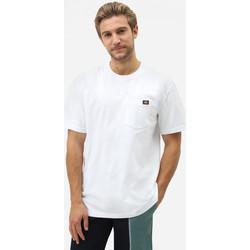 textil Hombre Camisetas manga corta Dickies Porterdale tshirt mens Blanco