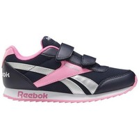 Zapatos Niña Zapatillas bajas Reebok Sport Royal CL Jogger Negros, Rosa