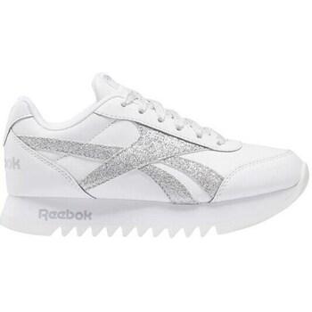 Zapatos Niños Zapatillas bajas Reebok Sport Royal CL Jogger Blanco, Plateado