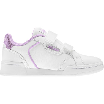 Zapatos Niños Zapatillas bajas adidas Originals ROGUERA DEPORTIVO BLANCO ROSA Blanco