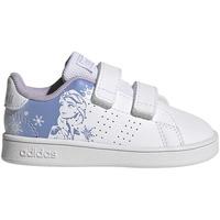 Zapatos Niños Zapatillas bajas adidas Originals ADVANTAGE FROZEN DISNEY BLANCO Blanco