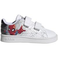 Zapatos Niños Zapatillas bajas adidas Originals ADVANTAGE SPIDERMAN MARVEL BLANCO Blanco
