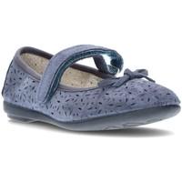 Zapatos Niña Bailarinas-manoletinas Vulladi SERRAJE 6400 PETROLEO