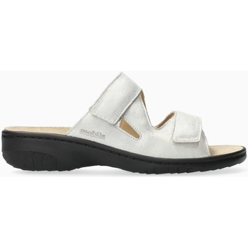 Zapatos Mujer Zuecos (Mules) Mephisto GEVA Blanco
