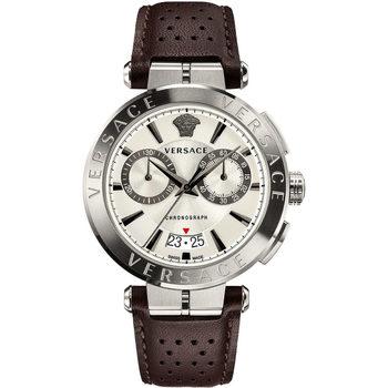 Relojes & Joyas Hombre Relojes analógicos Versace VE1D01120, Quartz, 45mm, 5ATM Plata