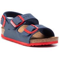 Zapatos Niños Zuecos (Mules) Birkenstock ZAPATO  MILANO KIDS BF DESERT SOIL