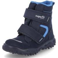 Zapatos Niño Botas de nieve Superfit Husky 1 Azul marino