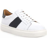 Zapatos Hombre Zapatillas bajas Soldini COLORADO BIANCO BLU Bianco
