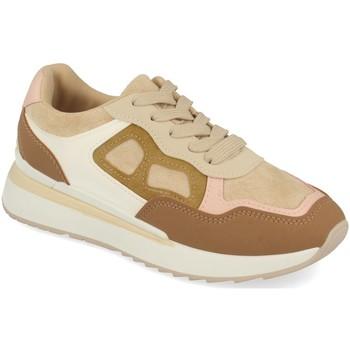 Zapatos Mujer Zapatillas bajas Tephani TF22111 Beige
