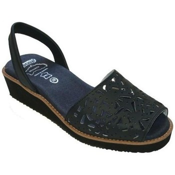 Zapatos Mujer Sandalias Avarca Cayetano Ortuño Avarcas Menorquinas con cuña y gel by CBP Bleu
