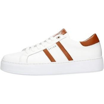 Zapatos Hombre Zapatillas bajas Exton 861 Cuero