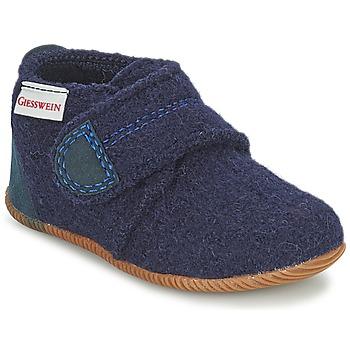 Zapatos Niño Pantuflas Giesswein OBERSTAUFEN Azul