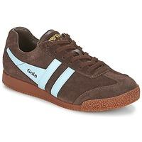 Zapatos Zapatillas bajas Gola HARRIER Marrón / Azul