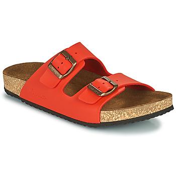 Zapatos Mujer Sandalias El Naturalista VEGANO Rojo