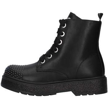 Zapatos Niña Botas de caña baja Café Noir C-800 NEGRO