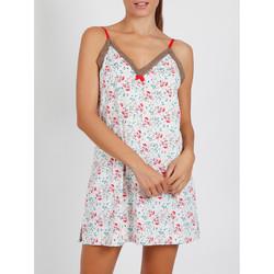 textil Mujer Pijama Admas Babydoll Rosa Marfil romántico Amarillo