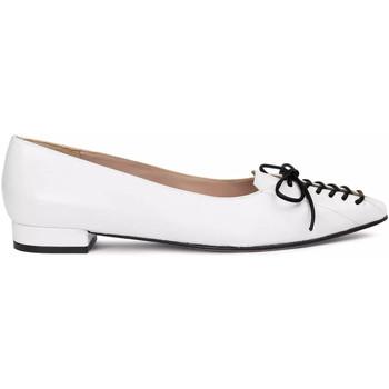 Zapatos Mujer Bailarinas-manoletinas Paco Gil BARBARA Blanco