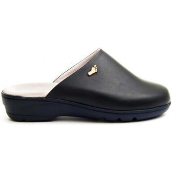 Zapatos Mujer Pantuflas Dkel 70458 BLUE