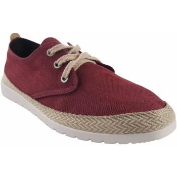 Zapatos Hombre Multideporte Calzamur Zapato caballero  35 granate Rojo