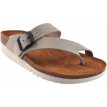 Zapatos Mujer Chanclas Interbios Sandalia señora  7119-mg gris Gris