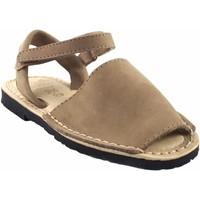 Zapatos Niña Sandalias Duendy Sandalia niño  9361 taupe Marrón