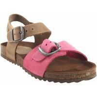 Zapatos Niña Sandalias Interbios Sandalia niño  7148n fuxia Rosa