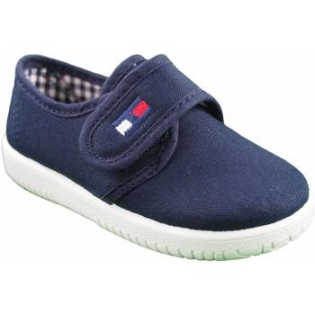 Zapatos Niño Multideporte Vulpeques Lona niño  132-pbt azul Azul